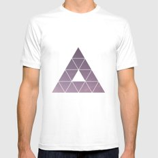 Pyramid Starry Sky Mens Fitted Tee White SMALL