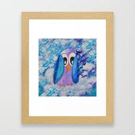 Guin Quirky Bird Series Framed Art Print