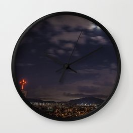 Seoul Moonlight Wall Clock