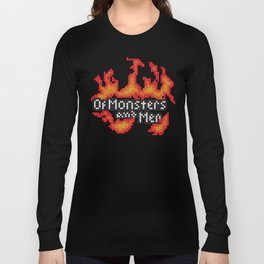 Of Monsters and Men Official Logo Long Sleeve T-shirt