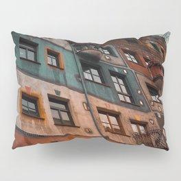 Hundertwasser museum Pillow Sham