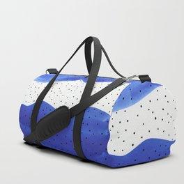 Bright blue series 5 Duffle Bag