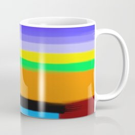 Abstract Painting No 432 By Chad Paschke Coffee Mug