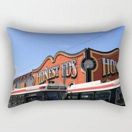 Red Rocket 21 Rectangular Pillow