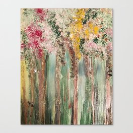 Woods in Spring Canvas Print