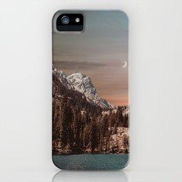 magic mountains iPhone Case