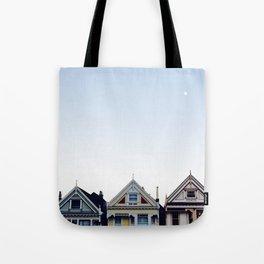 Moonlit Painted Ladies Tote Bag
