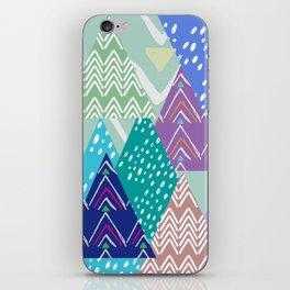 skieur iPhone Skin