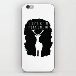 Expecto Patronum iPhone Skin