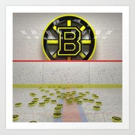 Bruins Art Print