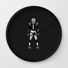 Keep Pounding - Cam Newton Wall Clock