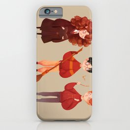 Friendship and Bravery iPhone Case
