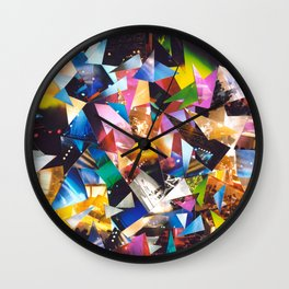 Collage Love: Music Wall Clock