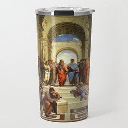 School Of Athens Painting Travel Mug