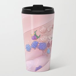 Flower Bath 9 Travel Mug
