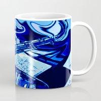 lsd Mugs featuring octopus LSD by MichellicA