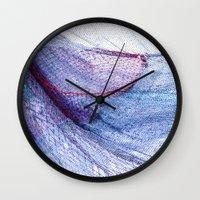 fishing Wall Clocks featuring fishing by Claudia Drossert