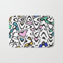Trippy Pop Urban Bath Mat