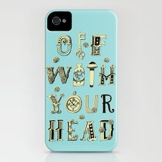 Off With Your Head Slim Case iPhone (4, 4s)