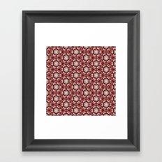 pttrn5 Framed Art Print