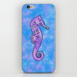 Dreamy Seahorse iPhone Skin