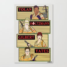 Team Ghostbusters Canvas Print