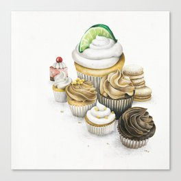 Sweet Energy Cupcakes Canvas Print