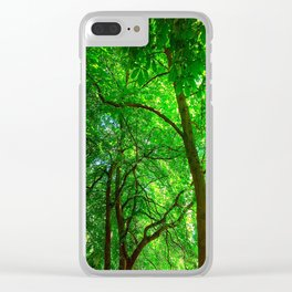 Maple Canopy, Dreamy and Magical Light Clear iPhone Case