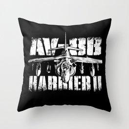 AV-8B Harrier II Throw Pillow