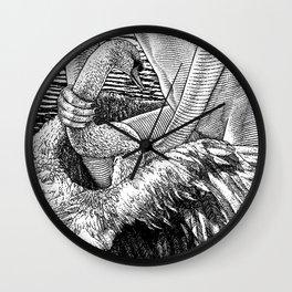 asc 677 - Les ailes du désir (The swain in disguise) Wall Clock