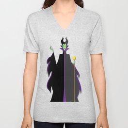 Origami - Mistress of All Evil Unisex V-Neck