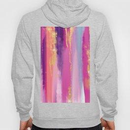 Watercolor strokes glitter Aquarelle coups de paillettes Aquarellstriche glitzern Brillo de trazos Hoody