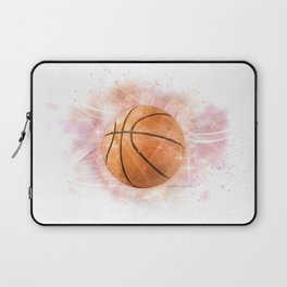 Whimsical Basketball Laptop Sleeve