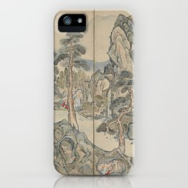 Orchid Pavilion Gathering iPhone Case