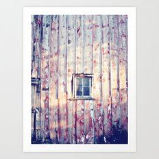 Morning Chores Art Print