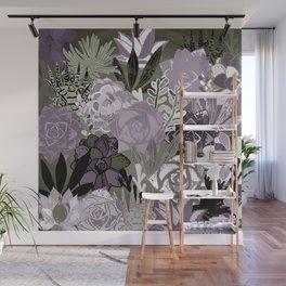 Succulents Art Wall Mural