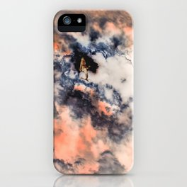 This Mermaid Has Her Head in The Clouds iPhone Case