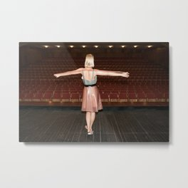 Everyone Likes to get On Stage and be Applauded Metal Print