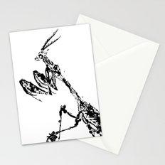 Violin Mantis Stationery Cards