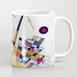 Kandinsky Delicate Tension Coffee Mug