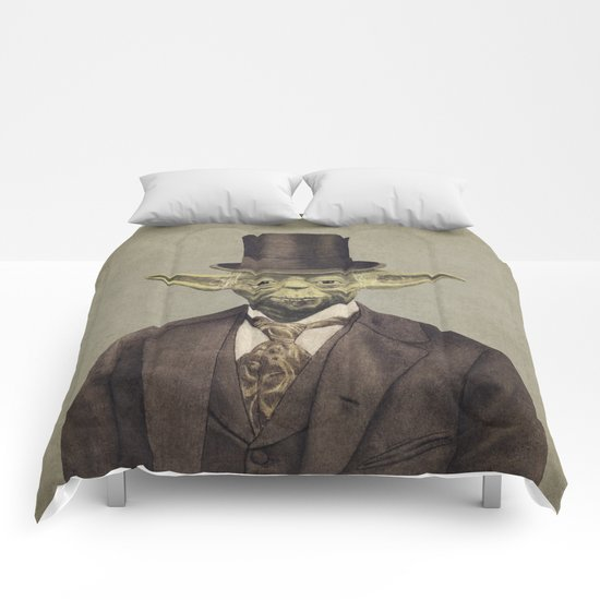 Sir Yodington  - square format Comforters