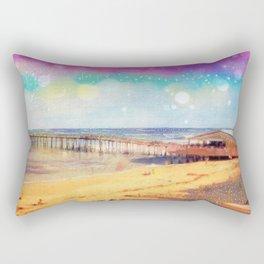 Nags Head Pier Rectangular Pillow