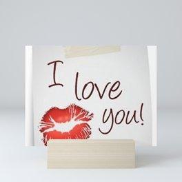 Love San Valentine Mini Art Print