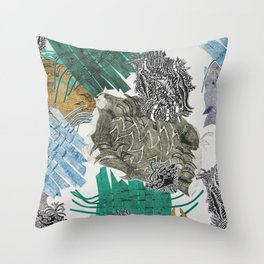 Carbonation Collection: beach Throw Pillow