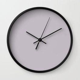 lilac marble Wall Clock