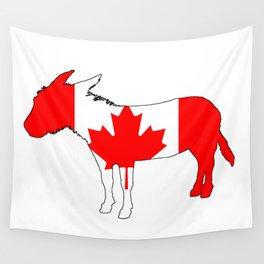 Canada Donkey Wall Tapestry