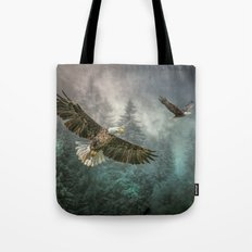 Valley of the eagles Tote Bag
