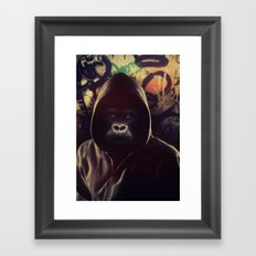 Billy Blue Framed Art Print