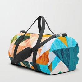 Geometric III Duffle Bag