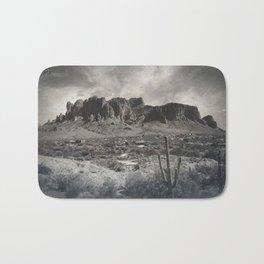 Superstition Mountain - Arizona Desert Bath Mat